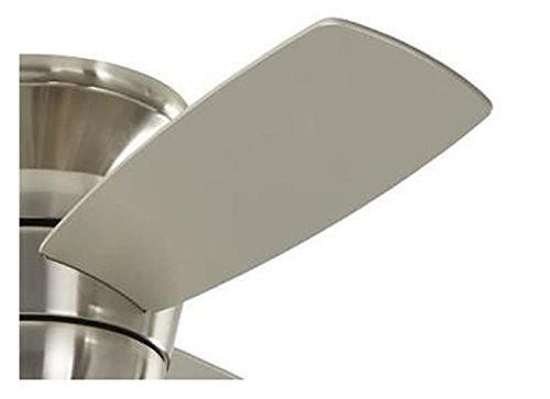 Harbor Breeze Mazon 44 Inch Brushed Nickel Flush Mount