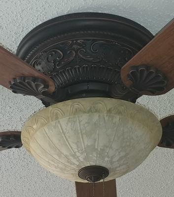 Lynstead 52 In Specialty Bronze Flush Mount Residential