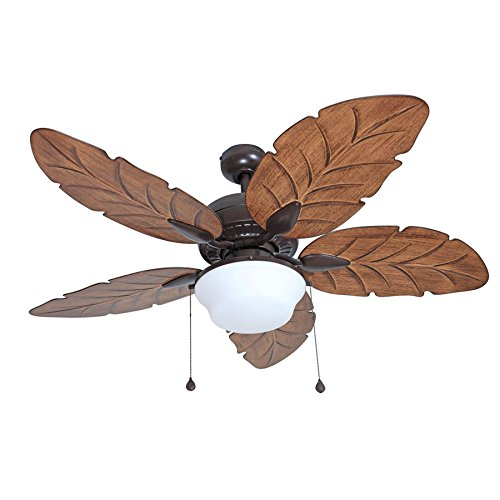 Harbor Breeze Waveport 52-inch Weathered Bronze fan with Light Kit