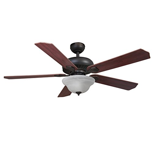 Harbor Breeze Crosswinds 52-inch Oil rubbed bronze Indoor Ceiling Fan