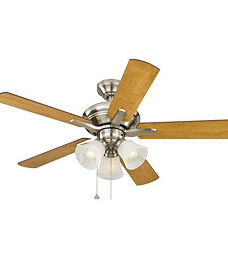 Harbor Breeze Beach Haven Special Edition Brushed Nickel Ceiling Fan