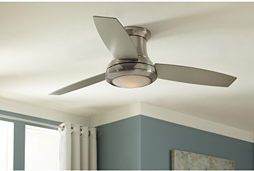 Harbor Breeze Sail Stream 52 Inch Brushed Nickel Ceiling Fan