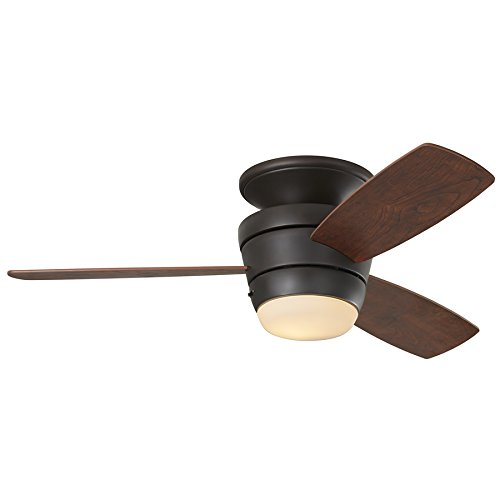Harbor Breeze Mazon 44 Inch Bronze Flush Mount Indoor