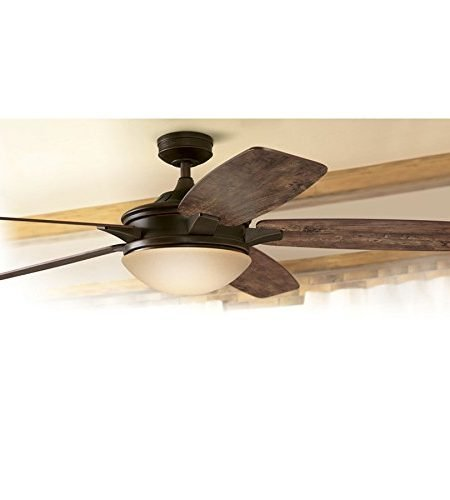 Harbor Breeze Kingsbury 70-inch Oil rubbed bronze Indoor Ceiling Fan