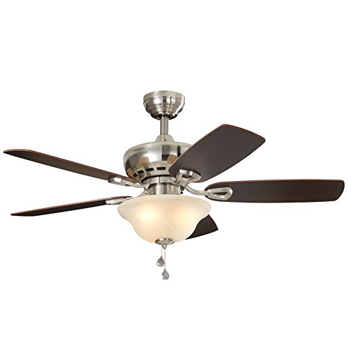 Harbor Breeze Sage Cove 44 Inch Bronze Downrod Ceiling Fan