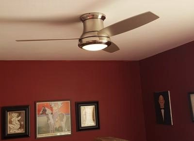 Harbor breeze sail stream 52 inch brushed nickel ceiling fan aloadofball Images