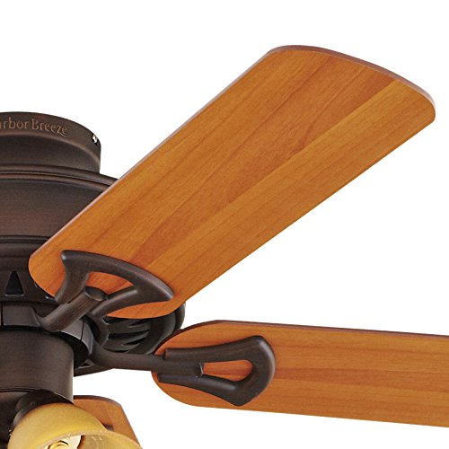 Harbor Breeze Springfield II 52-inch Antique Flush Mount Ceiling Fan