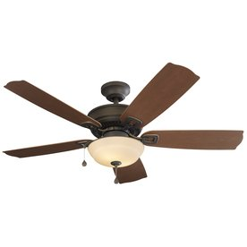 Harbor Breeze Echolake 52 Inch Close Mount Indoor Outdoor Ceiling Fan