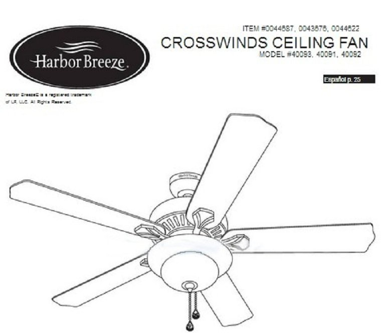harbor breeze ceiling fans website  replacement parts  u0026 light kits 2019