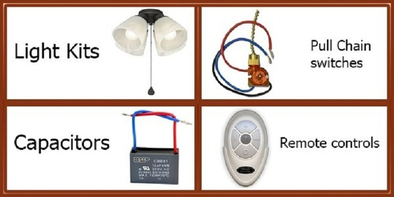 Harbor Breeze Ceiling Fan Parts
