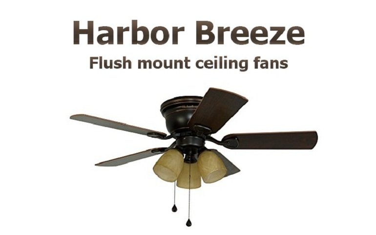 Harbor Breeze flushmount ceiling fans