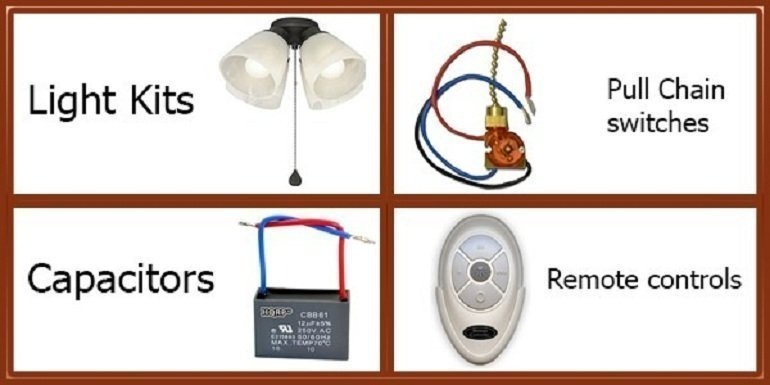 Harbor Breeze Replacement Ceiling Fan Parts Www