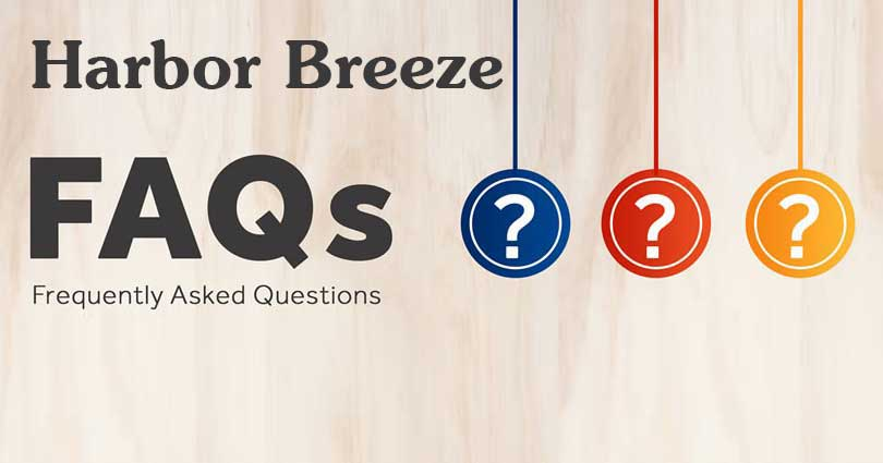 Harbor Breeze Ceiling Fans FAQ's